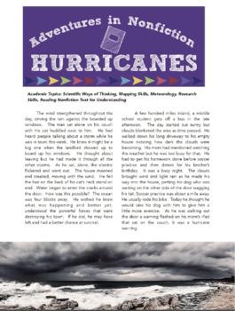 Adventures in Nonfiction: Hurricanes