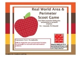 Real World Area and Perimeter Scoot Game