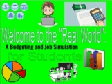 Real World Budgeting/Job Simulation (for Distance Learning AND in-person!)