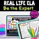 Real World English Projects: Be the Expert!