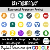 Real World Exponential Function Project   Cryptocurrency