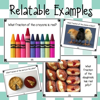 Real World Fraction Pictures