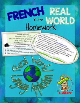 French Real World Homework - Les Devoirs