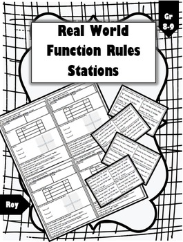 Real World Function Rules Stations