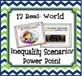 Real-World Inequality Scenarios Power Point