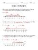 Real-World Integers Worksheet