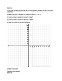 Real World Linear Equations - Rotation Stations