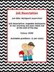 Real World Money Management Classroom Jobs