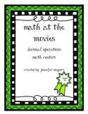Real-World Math Centers - Decimals