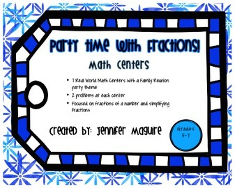 Real World Math Centers - Fractions