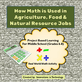 Real World Math - How Math is Used in Agriculture, Food & Natural Resource Jobs