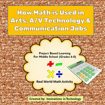 Real World Math - How Math is Used in Arts, A/V Tech & Communication Careers