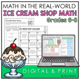 Real World Math | Ice Cream Activities