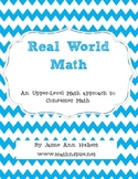 """""""Real World Math"""" - ENTIRE YEAR of curriculum"""