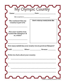 Real World Math: Olympics Data and Problem-Solving Pack