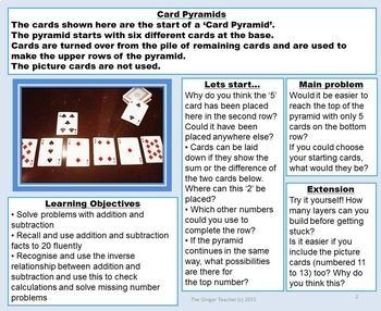 Real World Math Problems Task Cards Set 2