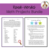 Real-World Math Projects Bundle