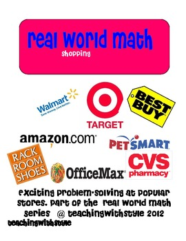Real World Math: Shopping