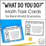 Real World Math Task Cards (Mixed Math Review)