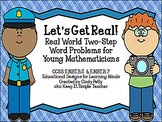 Let's Get Real!  Real World  Word Problems for CCSS 5.NBT.B.5 & 5.NBT.7