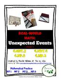 Real-World Math: Unexpected Events - Grade 4 (NBT.2, NBT.4