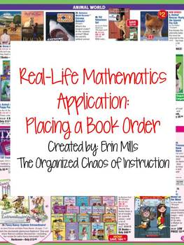 Real-World Mathematics Lesson: Placing a Book Order
