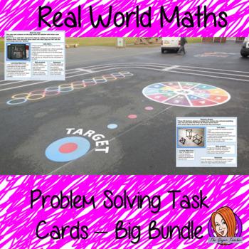 Real World Maths Task Cards Bundle