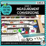 Real World Measurement Conversions | Math Center Activitie