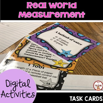 Real World Measurement Task Cards