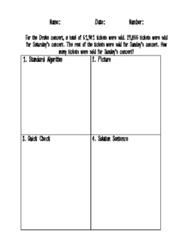 Real World Math Word Problems Add, Subtract, Area, Metric GROWING PRODUCT