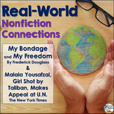 Nonfiction Connections:  Frederick Douglass & Malala Yousafzai