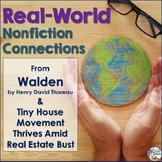Nonfiction Connections: Thoreau's Walden & Tiny House News Article