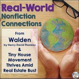 Nonfiction Connections: Thoreau's Walden & Tiny House News