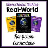 Real-World Nonfiction Connections Bundle: Thoreau, Douglas