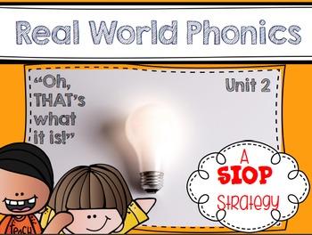 Real World Phonics for Reading Wonders 1st grade {Unit 2}