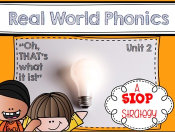 Real World Phonics for Reading Wonders 1st grade {Unit 2}