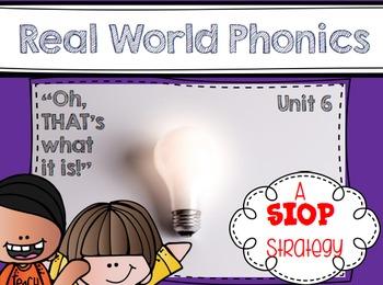 Real World Phonics for Reading Wonders 1st grade {Unit 6}