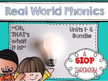 Real World Phonics for Reading Wonders 1st grade Bundle