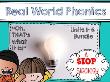 Real World Phonics for Reading Wonders 1st grade Bundle