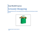 Real World Practice: Grocery Shopping