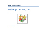 Real World Practice: Making a Grocery List (Grocery Shoppi