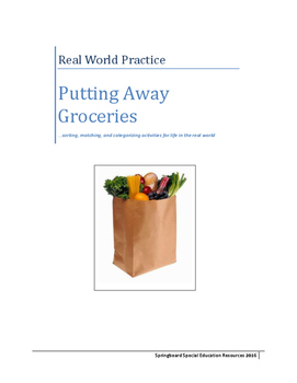 Real World Practice: Putting Away Groceries