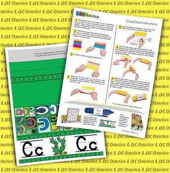 Circle-Line Alphabet GrandStand: C