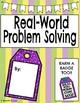 Real World Problem Solving: All Operations-3rd Grade TEKS (Digital/Printable)