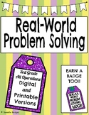 Real World Problem Solving: All Operations-3rd Grade TEKS