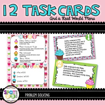 Real World Problem Solving  {Task Cards}