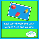 Real World Problems with Surface Area and Volume