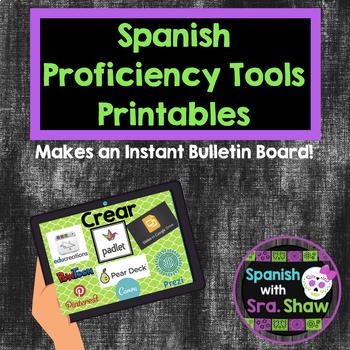 Real World Proficiency Printables Bulletin Board Spanish French German