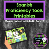 Real World Proficiency Printables Bulletin Board Spanish F