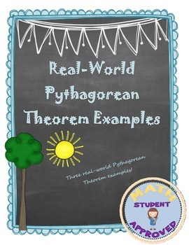 Real-World Pythagorean Theorem Problems to engage Students